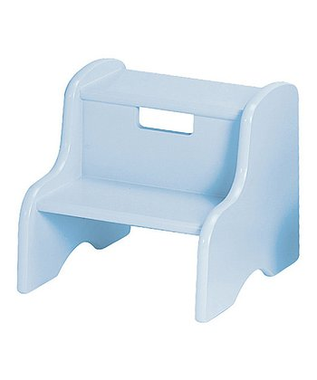 Pastel Blue Personalized Step Stool
