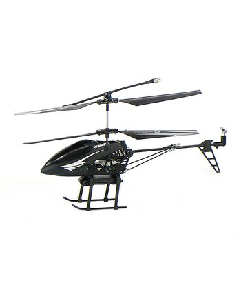 Black & White Remote Control Helicopter & Camera Set