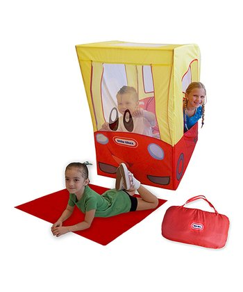 On-the-Go Cozy Coupe Pop-Up Play Tent