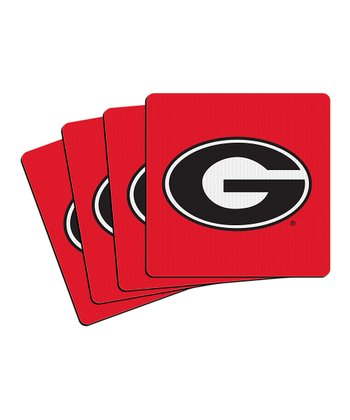 Georgia Neoprene Coaster - Set of Four