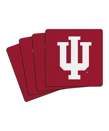 Indiana Neoprene Coaster - Set of Four