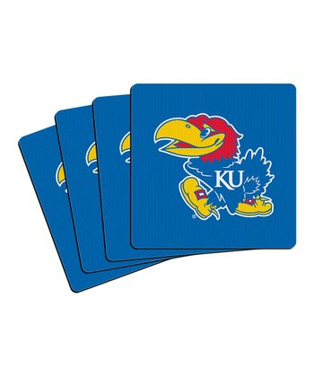 Kansas Neoprene Coaster - Set of Four