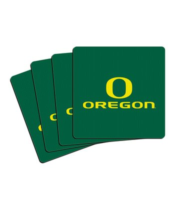 Oregon Neoprene Coaster - Set of Four