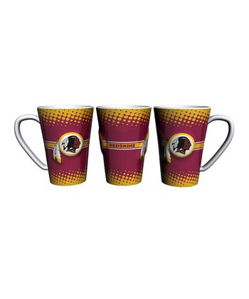 Washington Redskins 16-Oz. Sculpted Latte Mug