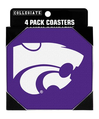 Kansas State Neoprene Coaster - Set of Four