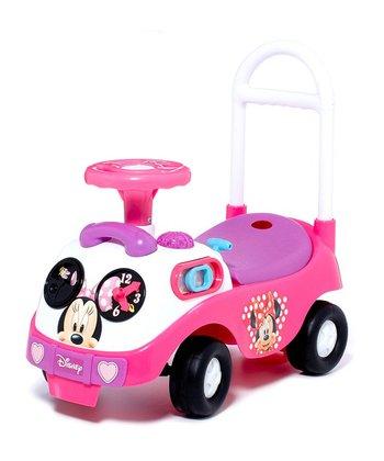 Pink Minnie Activity Ride-On