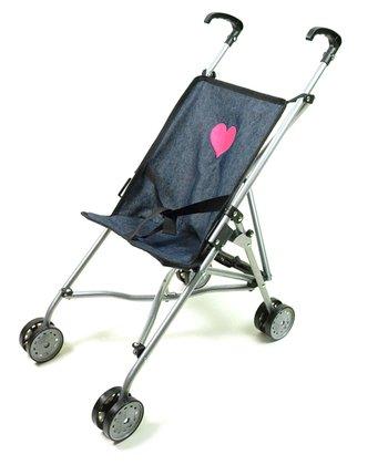 Denim Doll Stroller
