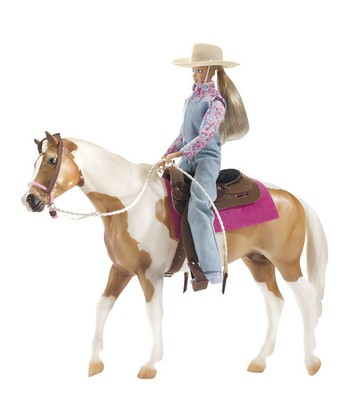 Let's Go Riding Western Doll & Horse