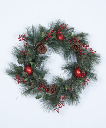 24'' Pinecone Wreath
