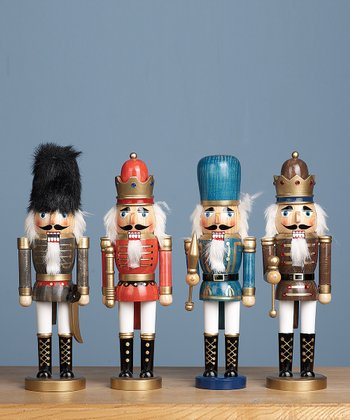 Medium Wood Nutcracker Soldier Set