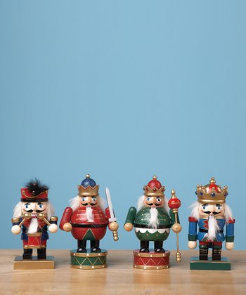 Small Wood Nutcracker Soldier Set