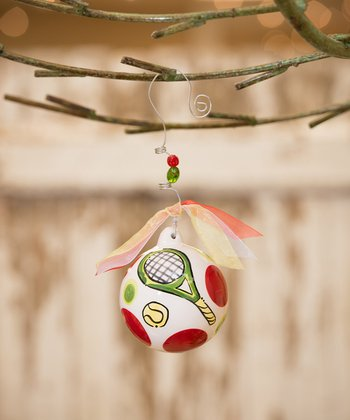 Tennis Personalized Ornament