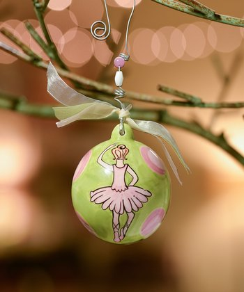 Ballerina Personalized Ornament