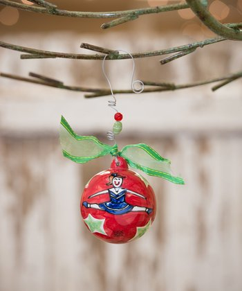 Cheerleader Personalized Ornament