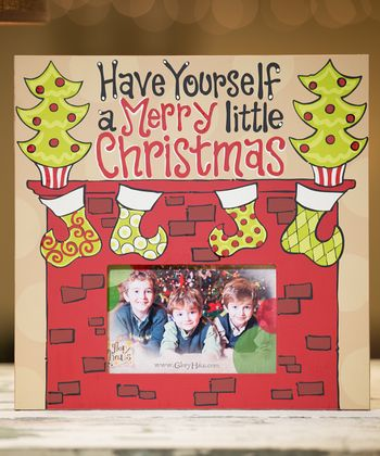 'A Merry Little Christmas' Personalized Picture Frame