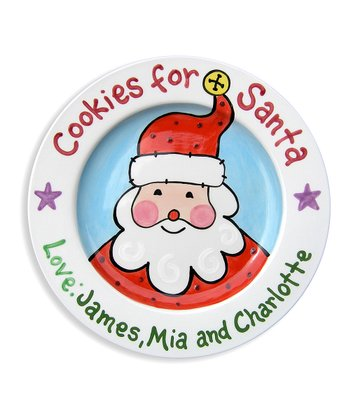 'For Santa' Personalized Plate