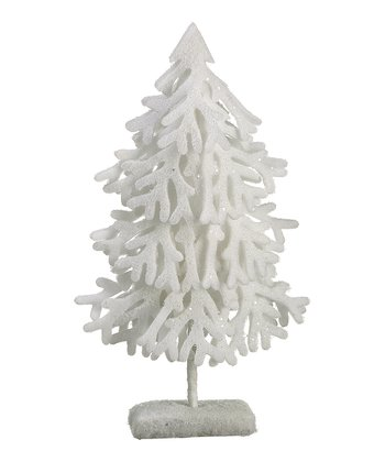 Glitter Snow Tabletop Tree