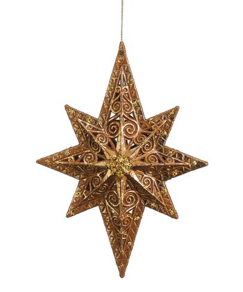 Glitter Northern Star Ornament