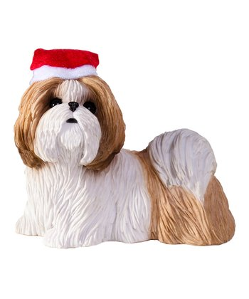 Gold Shih Tzu Ornament