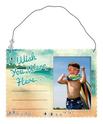 'Wish You Were Here' Picture Frame
