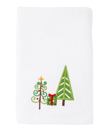 Festive Trees Hand Towel