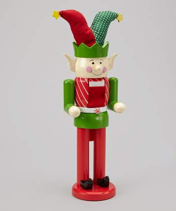 Jester Hat Elf Nutcracker Figurine