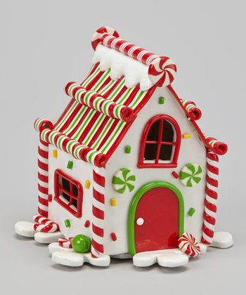 White LED Gingerbread House
