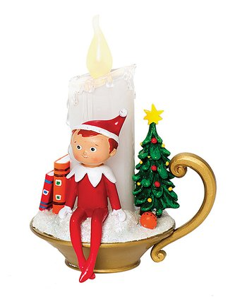 Elf on the Shelf LED Candle Figurine