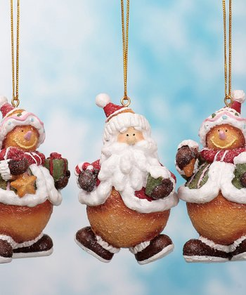 Holiday Figurine Ornament Set
