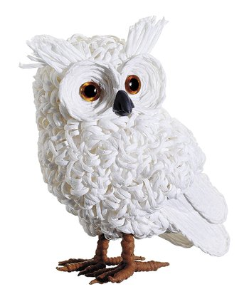 Snow Lodge Owl Figurine