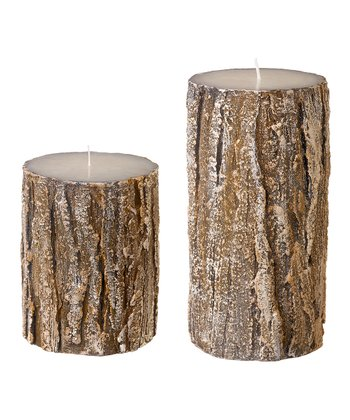Birch Candle Set