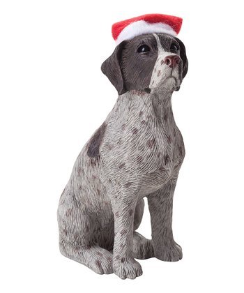 Santa Hat German Pointer Ornament