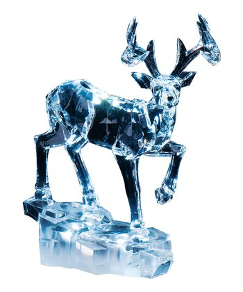 Deer Stepping LED Figurine