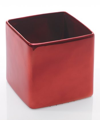 Red Urban Canister
