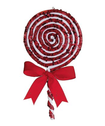 Peppermint Sequin Candy Ornament