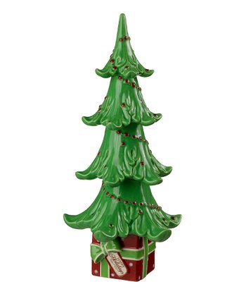 'Happy Holidays' Ceramic Christmas Tree