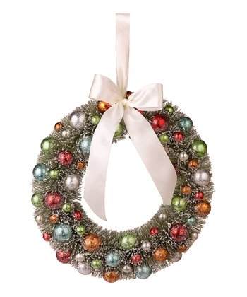 Ball Ornament Wreath