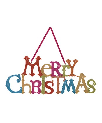 'Merry Christmas' Sign
