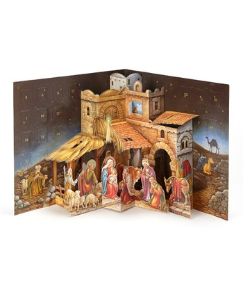 Pop-Up Nativity Advent Calendar