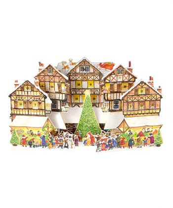 Pop-Up Christmas Market Advent Calendar