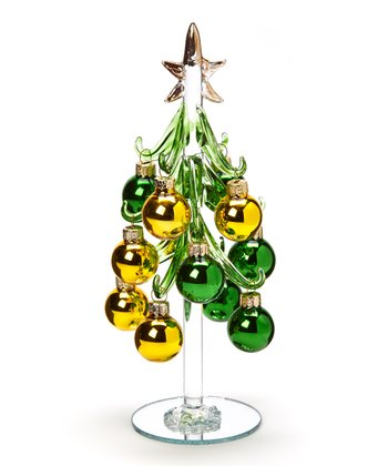 Green & Gold Tree Set