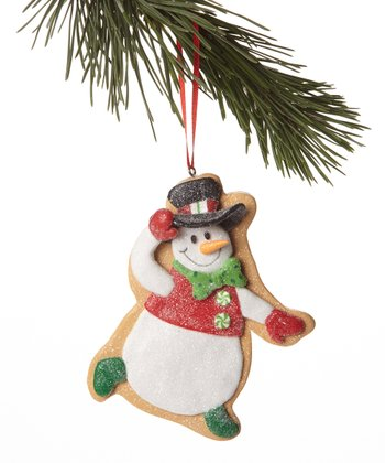 Top Hat Snowman Cookie Ornament