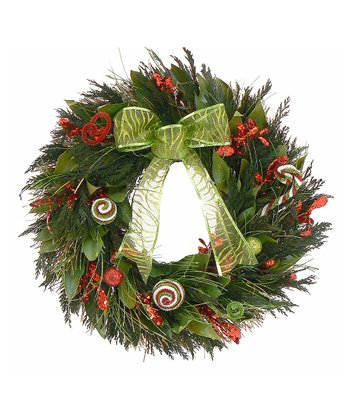 Holiday Swirl Wreath