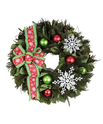 Snowflake Enchantment Wreath