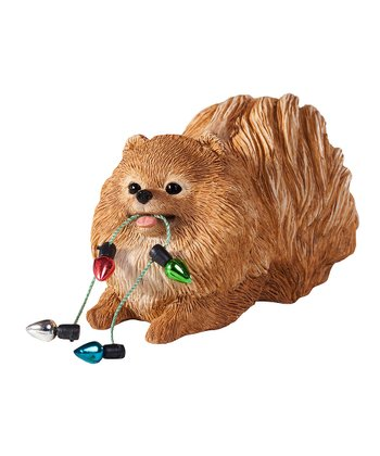 Holiday Pomeranian Ornament