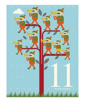 Eleventh Day of Christmas Print