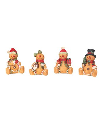 Mini Gingerbread Figurine Set