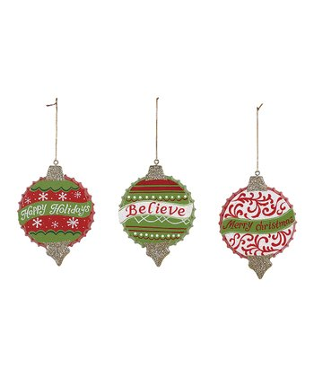 Bottle Cap Ornament Set
