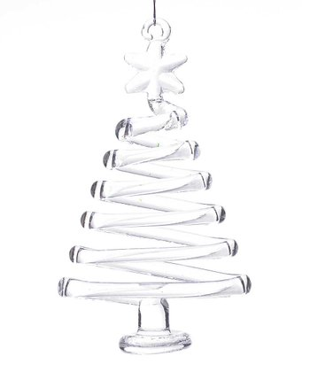 Tree Swirl Ornament - Set of Three