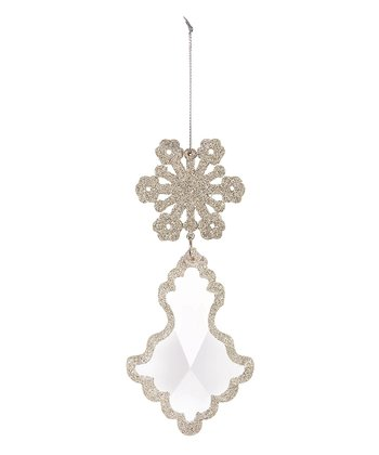 White Dangle Ornament